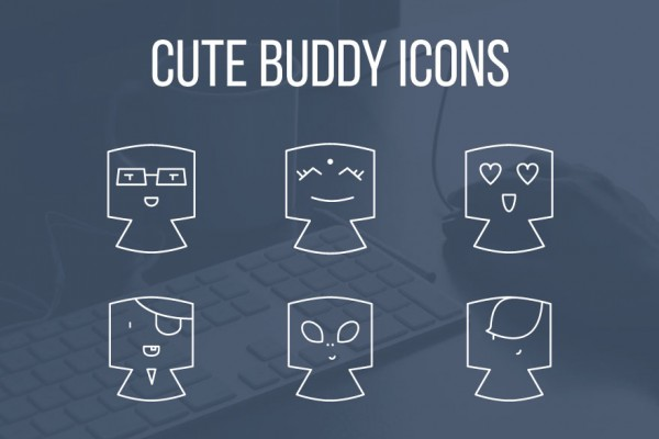 Avatar / buddy icons iconset